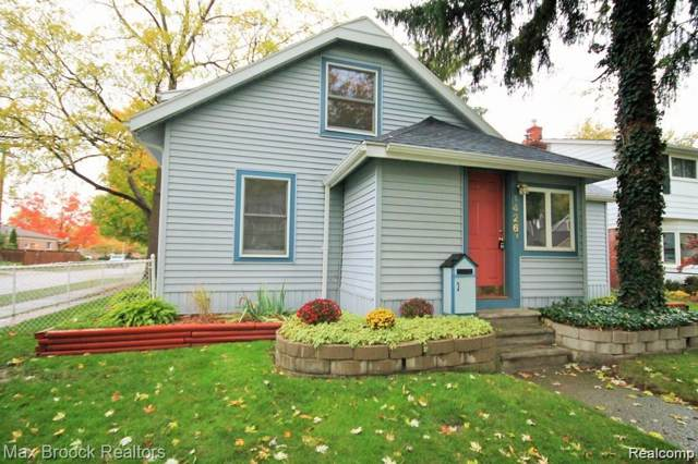 1426 Butternut Avenue, Royal Oak, MI 48073 (#2200009089) :: The Buckley Jolley Real Estate Team