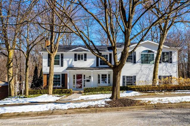 1012 Grace Court, Northville, MI 48167 (MLS #2200009328) :: The John Wentworth Group