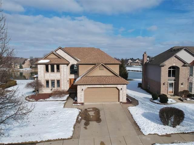 52280 Cedar Mill Drive, Macomb Twp, MI 48042 (#2200010427) :: The Buckley Jolley Real Estate Team
