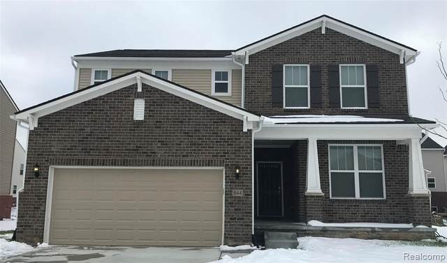21240 Calabrese Drive, Lyon Twp, MI 48178 (#2200010496) :: The Mulvihill Group