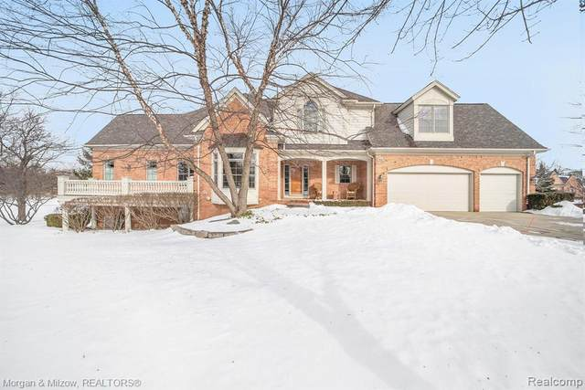 2840 Hastings Court, Rochester, MI 48306 (#2200010625) :: The Buckley Jolley Real Estate Team