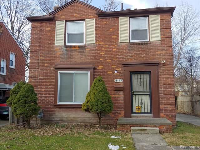 6183 Bluehill Street, Detroit, MI 48224 (#2200010761) :: The Buckley Jolley Real Estate Team