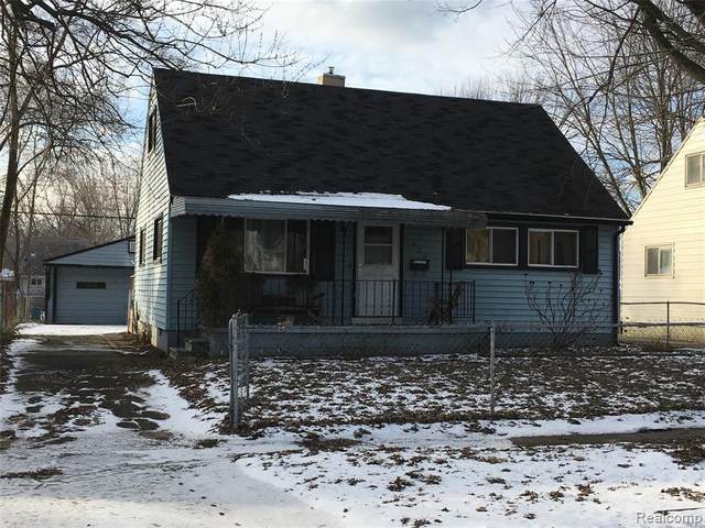 620 Kansas Avenue, Ypsilanti Twp, MI 48198 (#2200010931) :: Springview Realty