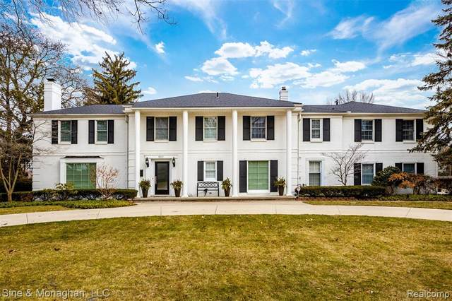 800 Sunningdale Drive, Grosse Pointe Woods, MI 48236 (#2200010953) :: The Mulvihill Group