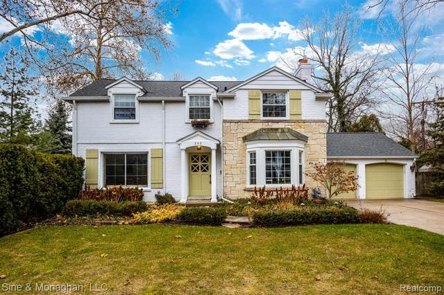 348 Touraine Road, Grosse Pointe Farms, MI 48236 (#2200011036) :: The Buckley Jolley Real Estate Team