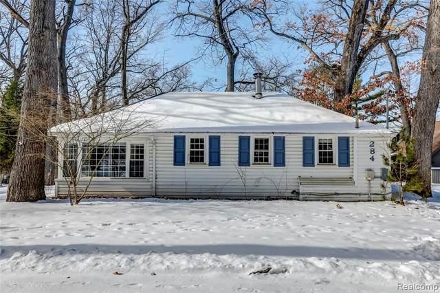 284 Ellsworth Lake Drive, Lyndon Twp, MI 48137 (#2200011234) :: The Buckley Jolley Real Estate Team