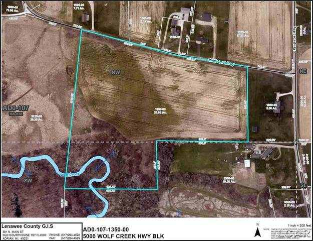 5000 BLK Wolf Creek, Adrian Twp, MI 49221 (#56050005503) :: RE/MAX Nexus