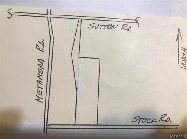 Par D Stock Road, Metamora Twp, MI 48455 (#2200011298) :: GK Real Estate Team