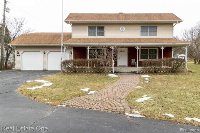627 Mill Street, Ortonville Vlg, MI 48462 (#2200011373) :: The Buckley Jolley Real Estate Team