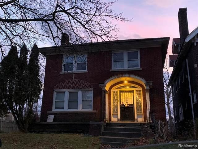 5157 Burns Street, Detroit, MI 48213 (#2200011402) :: The Buckley Jolley Real Estate Team