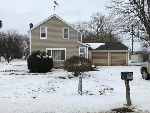 5614 Snover Road, Lamotte Twp, MI 48426 (#2200011407) :: The Buckley Jolley Real Estate Team