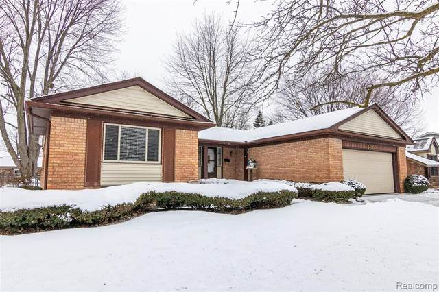 44057 Hanford Road, Canton Twp, MI 48187 (#2200011960) :: The Buckley Jolley Real Estate Team