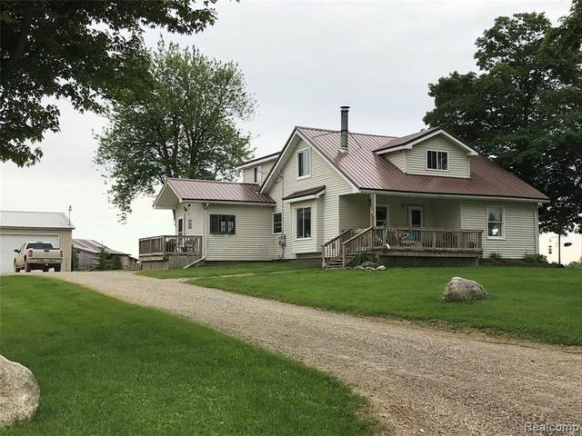 5141 Cotter Road, Marlette Twp, MI 48453 (#2200012175) :: The Buckley Jolley Real Estate Team