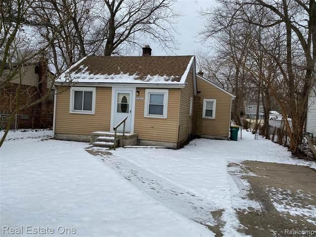 21675 Roosevelt Ave, Farmington Hills, MI 48336 (#2200012282) :: The Buckley Jolley Real Estate Team