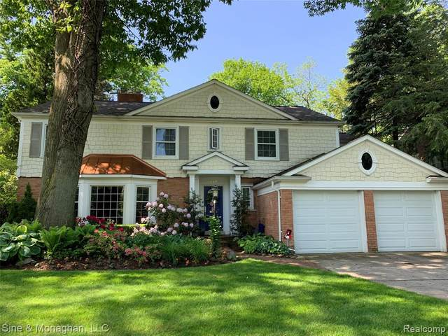 319 Touraine Road, Grosse Pointe Farms, MI 48236 (#2200012429) :: The Buckley Jolley Real Estate Team