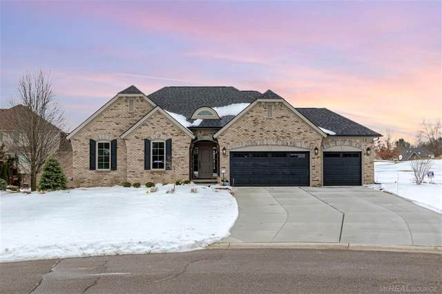 1798 Carnoustie Court, Oxford Twp, MI 48371 (#58050005848) :: The Alex Nugent Team | Real Estate One