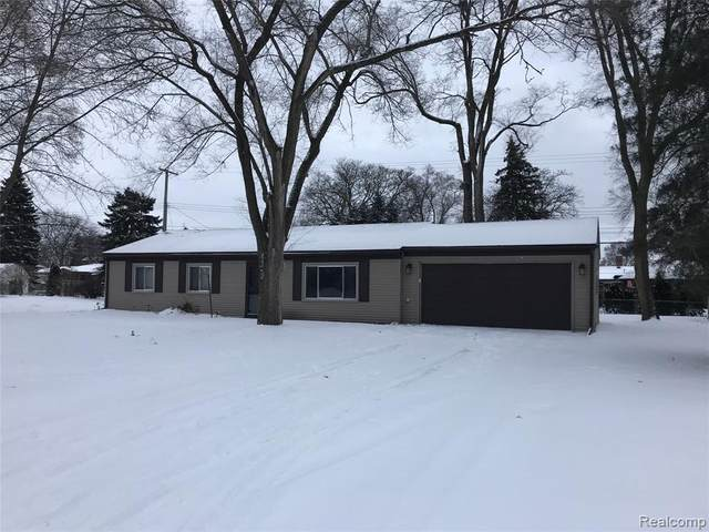 8150 Rondale Drive, Shelby Twp, MI 48316 (MLS #2200012452) :: The Toth Team