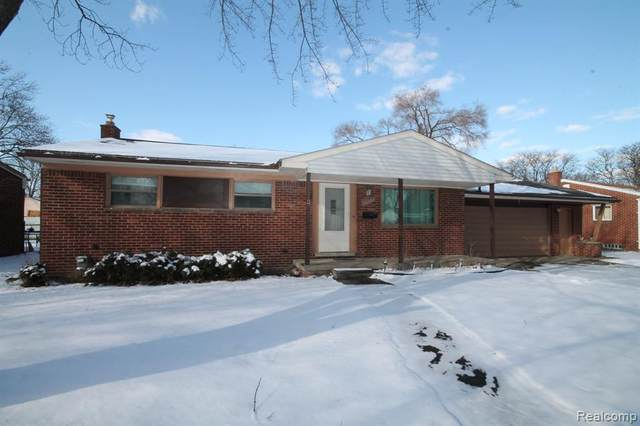 2553 Tarry Drive, Sterling Heights, MI 48310 (#2200012547) :: The Buckley Jolley Real Estate Team