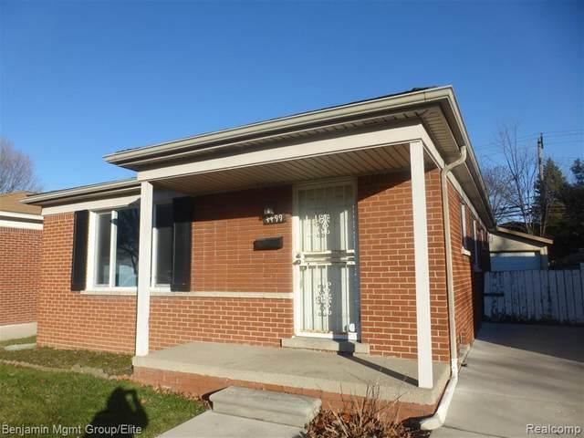 4499 Monroe Street, Dearborn Heights, MI 48125 (#2200012742) :: The Buckley Jolley Real Estate Team