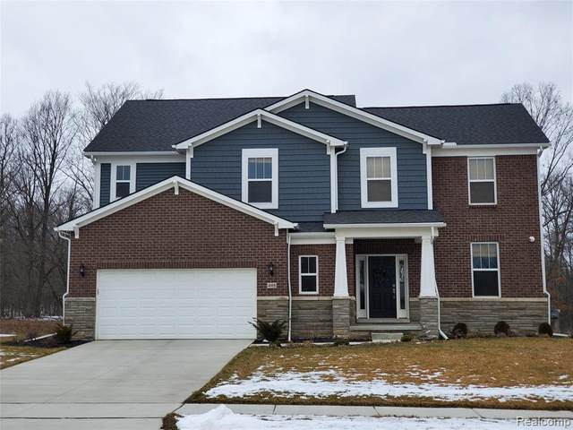5680 Whispering Springs Drive, Ann Arbor, MI 48108 (MLS #2200013234) :: The Toth Team