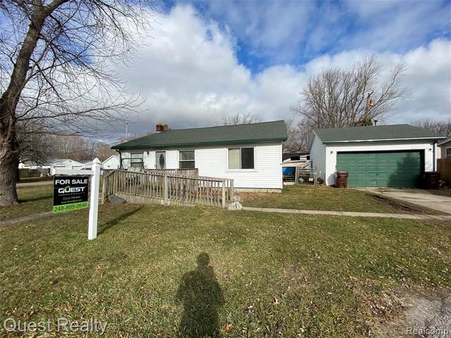 5601 Parkview Street, Frenchtown Twp, MI 48166 (MLS #2200013337) :: The Toth Team