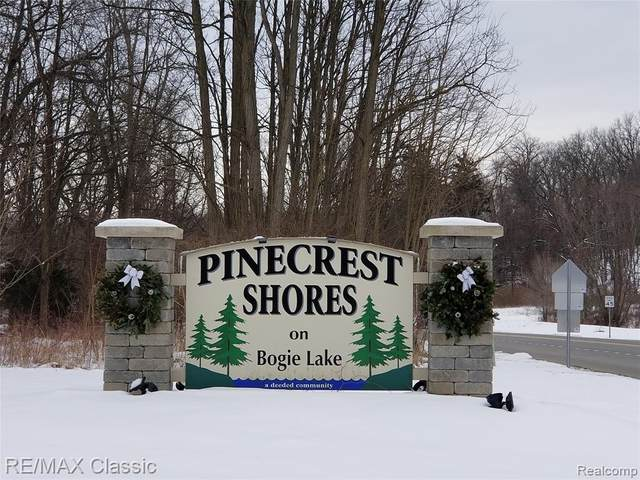 Vacant Pinecrest Drive, White Lake Twp, MI 48386 (#2200013372) :: Alan Brown Group
