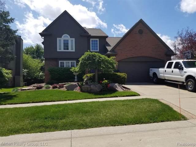 6566 Berkshire Drive, Washington Twp, MI 48094 (#2200013465) :: Springview Realty