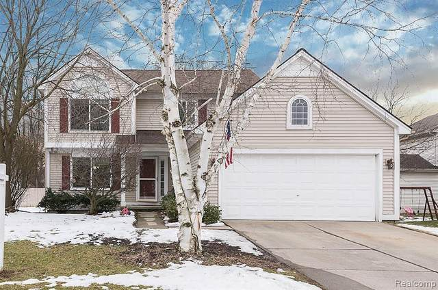 1641 Norton Creek Boulevard, Wixom, MI 48393 (#2200013568) :: The Buckley Jolley Real Estate Team