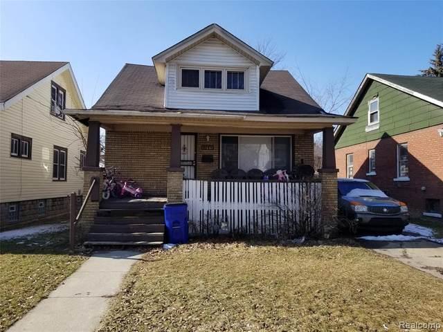 11687 Manor Street, Detroit, MI 48204 (MLS #2200013574) :: The Toth Team