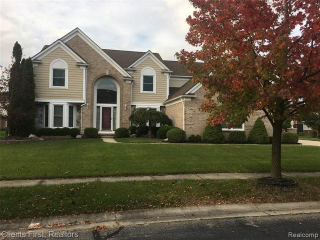 45996 Windridge Lane, Canton Twp, MI 48188 (#2200013893) :: The Mulvihill Group