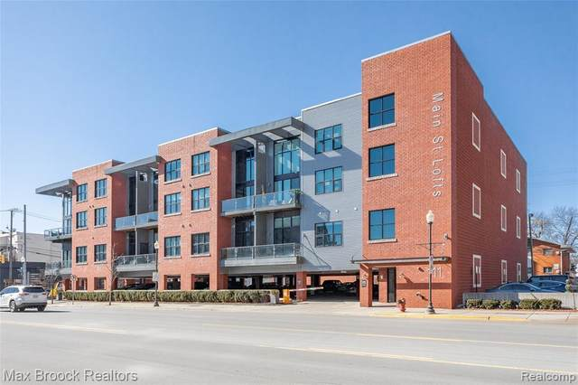 111 N Main Street #208, Royal Oak, MI 48067 (#2200013916) :: Alan Brown Group