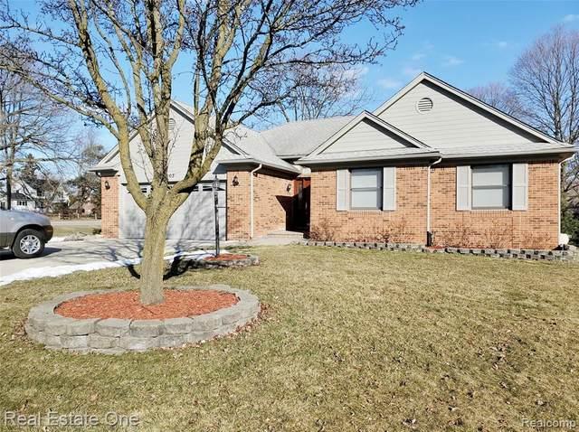 1003 Bembridge Drive, Rochester Hills, MI 48307 (#2200014026) :: The Buckley Jolley Real Estate Team