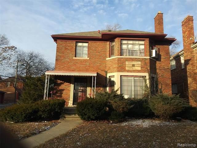 17501 Wisconsin Street N, Detroit, MI 48221 (#2200014080) :: RE/MAX Nexus