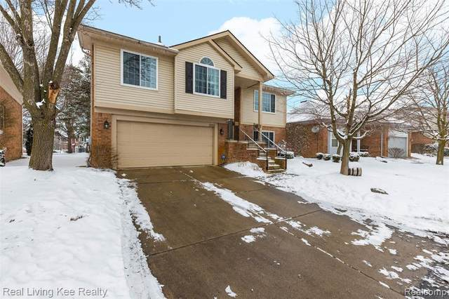 3068 Bridlewood Dr, Oakland Twp, MI 48306 (#2200014086) :: The Buckley Jolley Real Estate Team