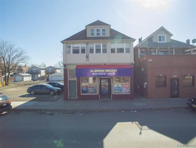 2222 Caniff Street, Hamtramck, MI 48212 (#2200014217) :: Springview Realty