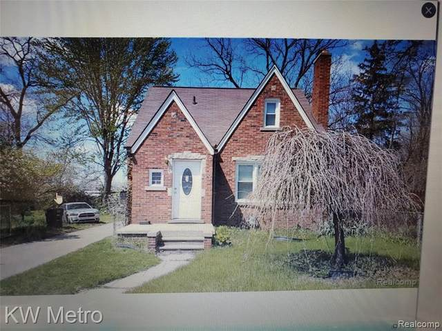 19187 Grandview Street, Detroit, MI 48219 (#2200014380) :: Alan Brown Group