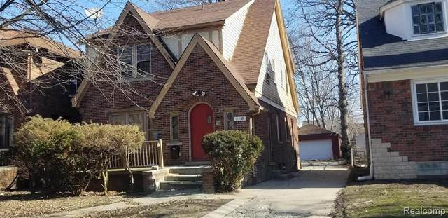5310 Grayton Street, Detroit, MI 48224 (#2200014439) :: Alan Brown Group