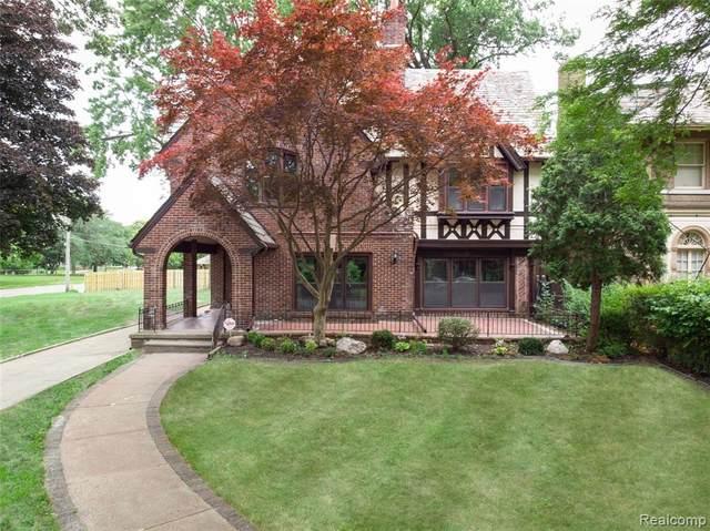 2215 W Boston, Detroit, MI 48206 (#2200014538) :: The Buckley Jolley Real Estate Team