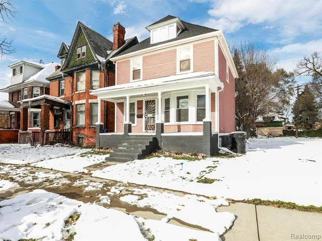 445 Smith Street, Detroit, MI 48202 (#2200014548) :: The Buckley Jolley Real Estate Team