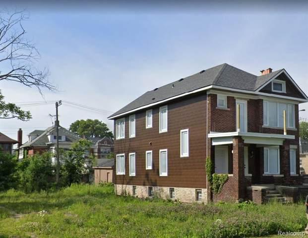 1243 Calvert Street, Detroit, MI 48202 (#2200014551) :: The Buckley Jolley Real Estate Team