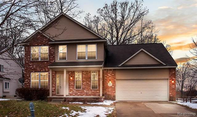 1831 Wooded Valley Lane, Howell, MI 48855 (#2200014695) :: BestMichiganHouses.com