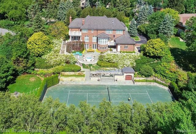 125 Hilltop Lane, Bloomfield Hills, MI 48304 (#2200014718) :: The Buckley Jolley Real Estate Team