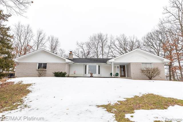 1036 N Hickory Ridge Trail, Milford Twp, MI 48380 (#2200014866) :: Alan Brown Group