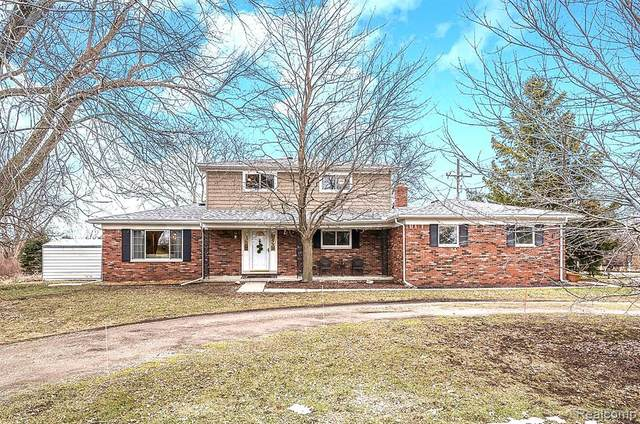 26614 Joslin Road, Lyon Twp, MI 48165 (#2200014876) :: RE/MAX Nexus