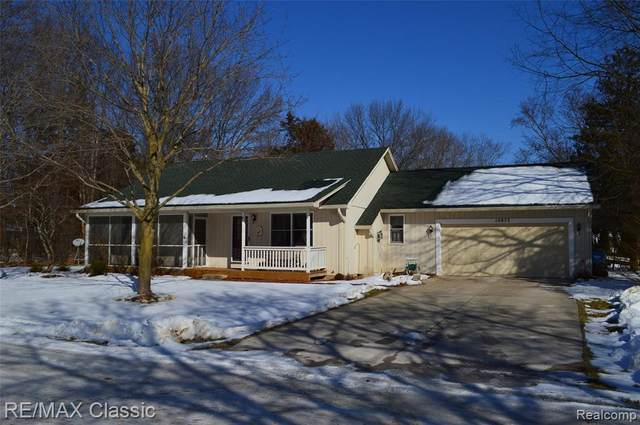 10875 Monticello Road, Hamburg Twp, MI 48169 (#2200015068) :: The Mulvihill Group