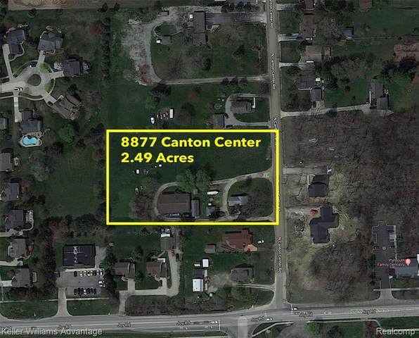 8877 N Canton Center Road, Plymouth Twp, MI 48170 (#2200015105) :: BestMichiganHouses.com