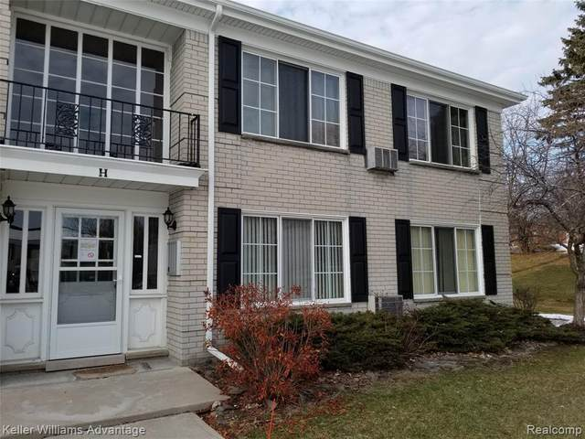 100 W Hickory Grove Rd Apt H6, Bloomfield Twp, MI 48304 (#2200015275) :: RE/MAX Nexus