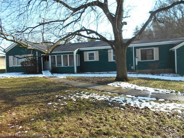 49 Cloverport Avenue E, Rochester Hills, MI 48307 (#2200015326) :: The Buckley Jolley Real Estate Team