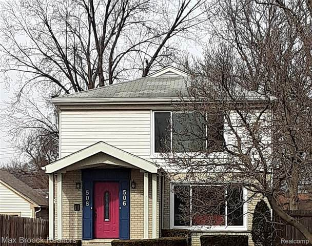 506 W 12 MILE Road, Royal Oak, MI 48073 (#2200015411) :: RE/MAX Nexus