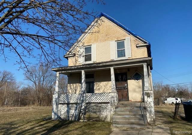 6640 Fischer Street, Detroit, MI 48213 (#2200015518) :: GK Real Estate Team